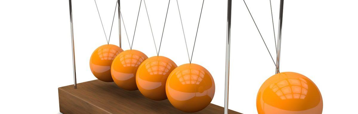 Newton's Cradle rendering